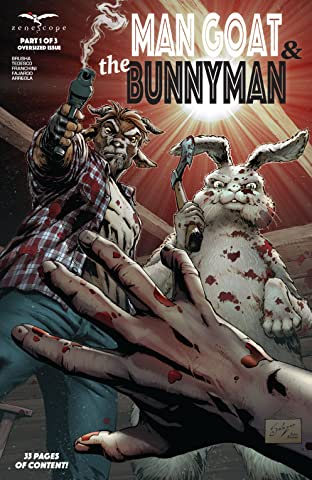 Man Goat & The Bunny Man #1