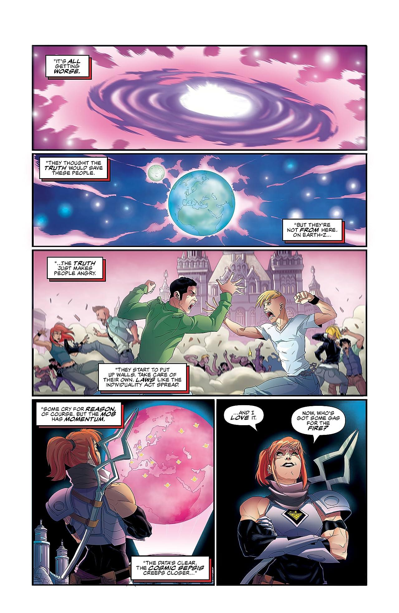 Commanders In Crisis #9 (of 12)