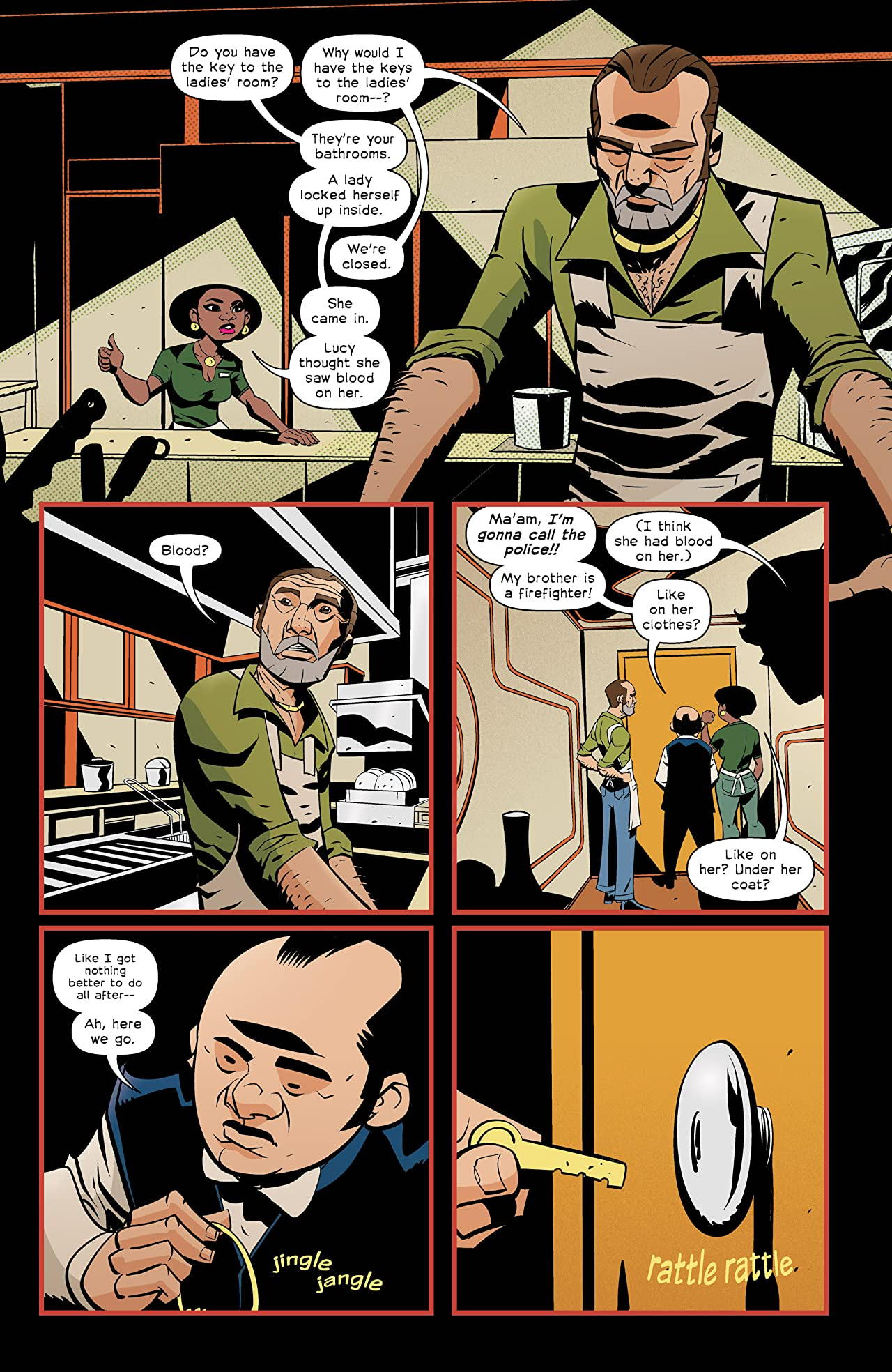 The Old Guard: Tales Through Time #3 (of 6)