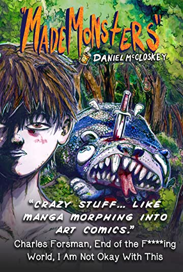 """Made Monsters"" Tome 1-4: Collection of ""Top of the Line"" 1-4"