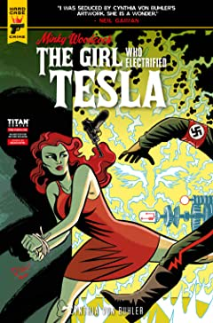 Minky Woodcock #2.4: The Girl Who Electrified Tesla