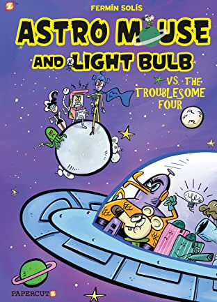 Astro Mouse and Lightbulb Vol. 2: Astro Mouse vs the Troublesome 4