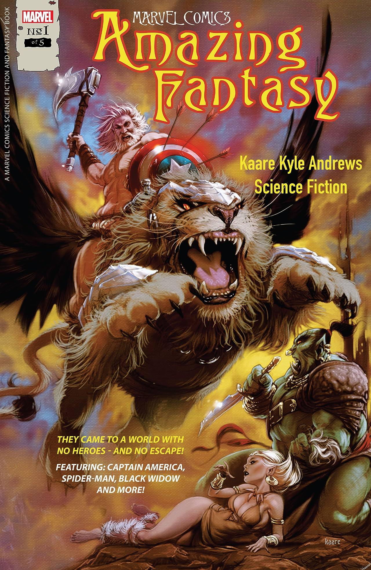 Amazing Fantasy (2021) #1 (of 5)