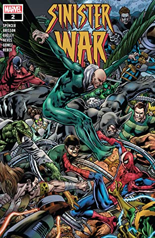 Sinister War (2021) No.2 (sur 4)