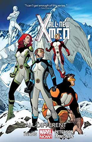 All-New X-Men Tome 4: All-Different