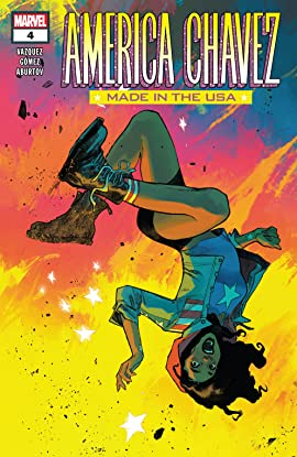 America Chavez: Made In The Usa #4 (of 5)