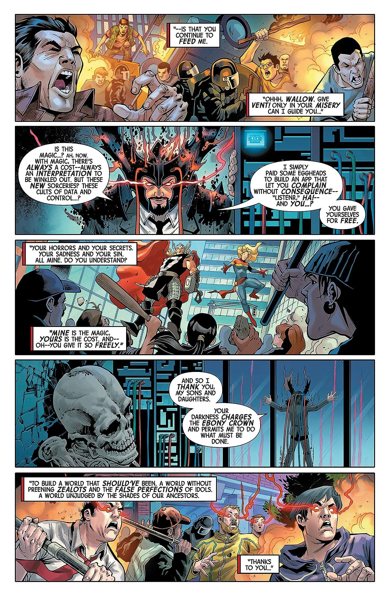 Black Knight: Curse Of The Ebony Blade (2021) #5 (of 5)
