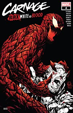 Carnage: Black, White & Blood #4 (of 4)
