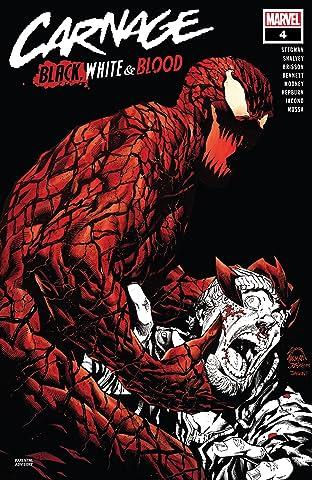 Carnage: Black, White & Blood #4 (of 4)