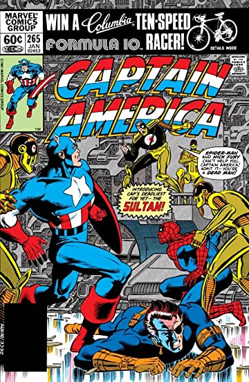 Captain America (1968-1996) #265