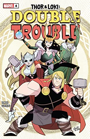 Thor & Loki: Double Trouble (2021) #4 (of 4)