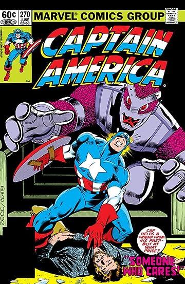 Captain America (1968-1996) #270