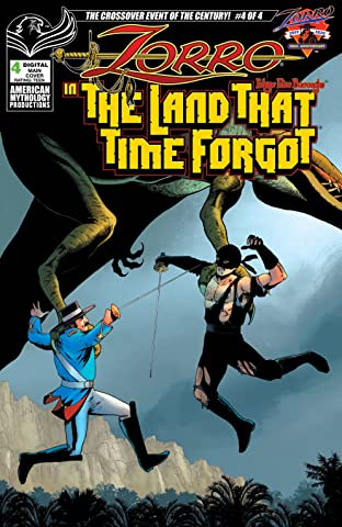 Zorro in the Land That Time Forgot #4