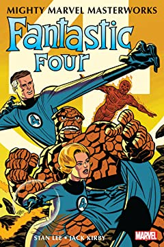 Mighty Marvel Masterworks: The Fantastic Four Tome 1: The World's Greatest Heroes