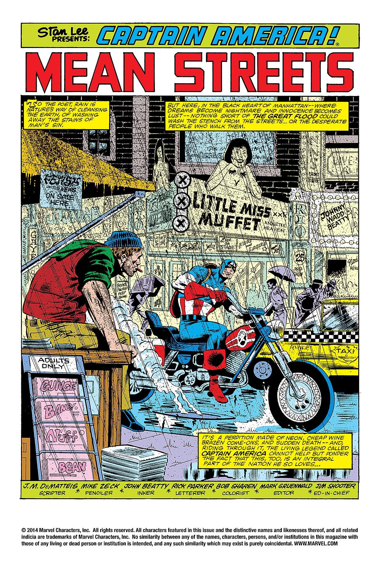 Captain America (1968-1996) #272