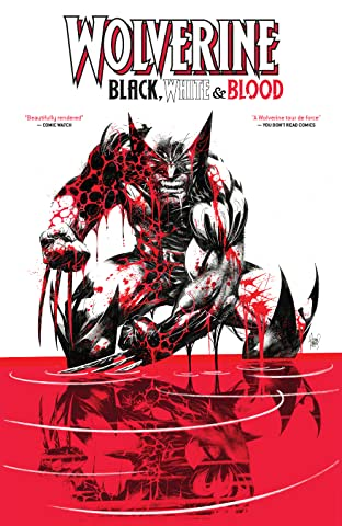 Wolverine: Black, White & Blood Treasury Edition