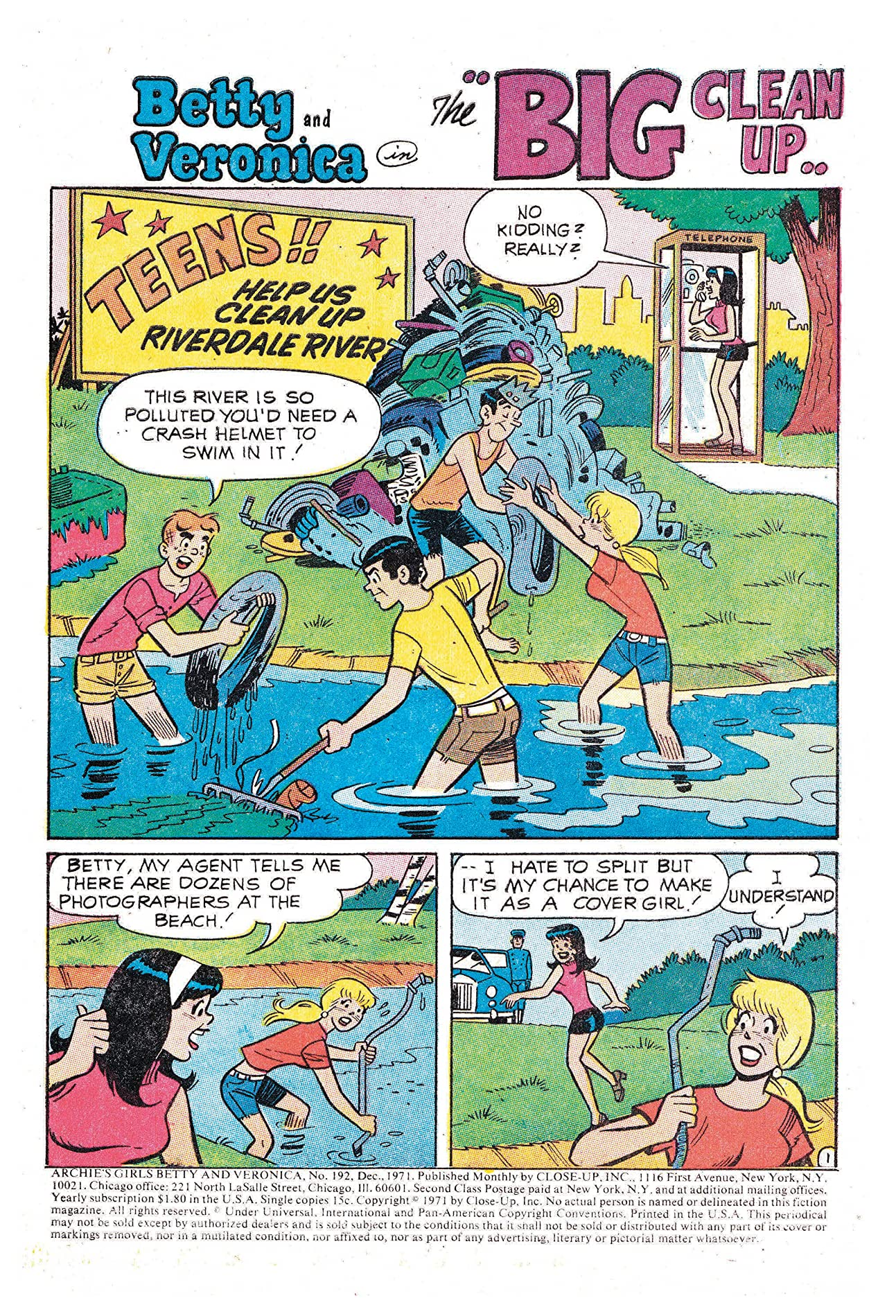 Archie's Girls Betty & Veronica No.192