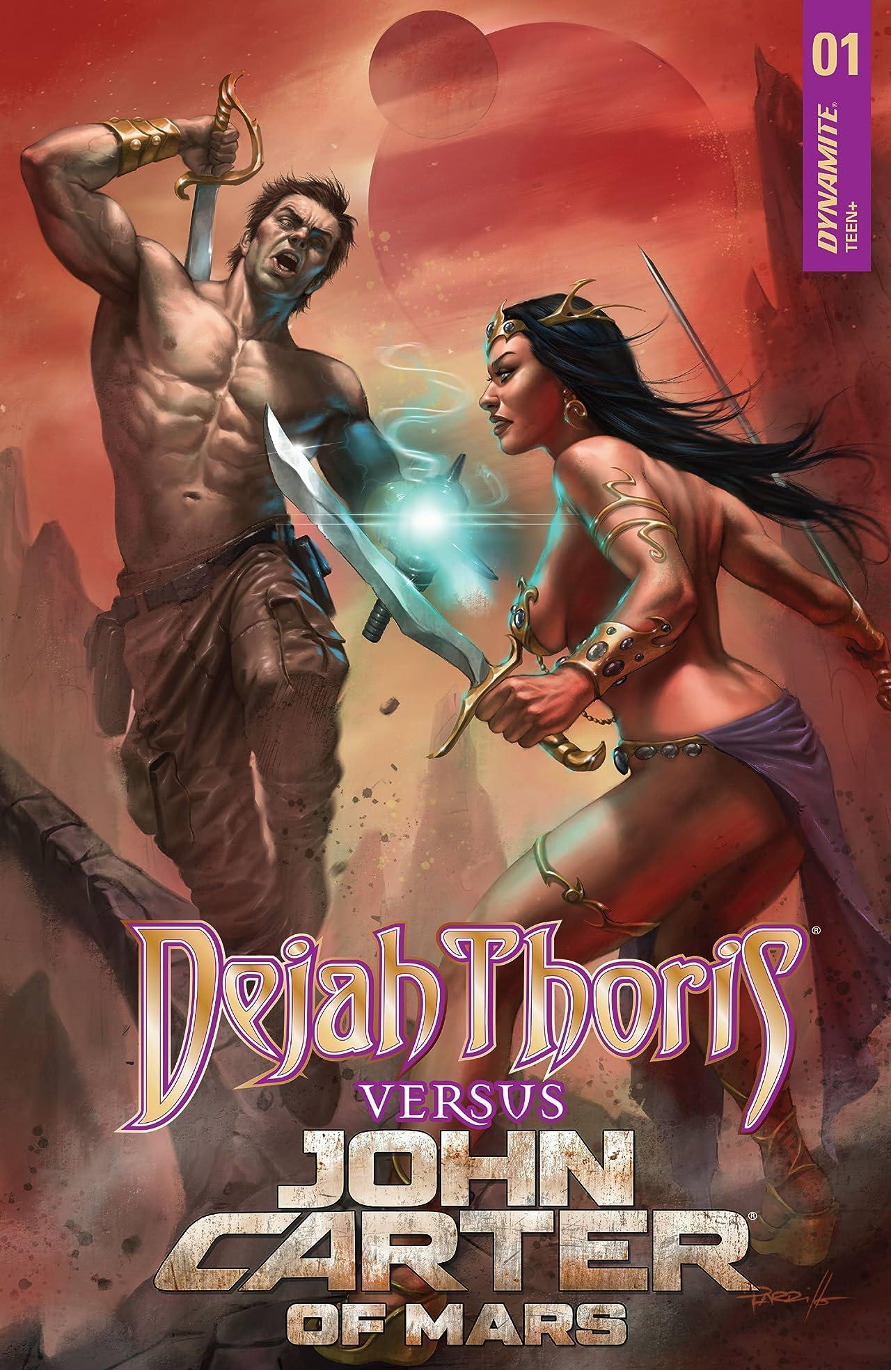 Dejah Thoris vs. John Carter of Mars #1