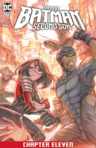 The Next Batman: Second Son (2021-) #11