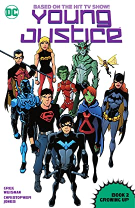 Young Justice (2011-2013): Book Two: Growing Up