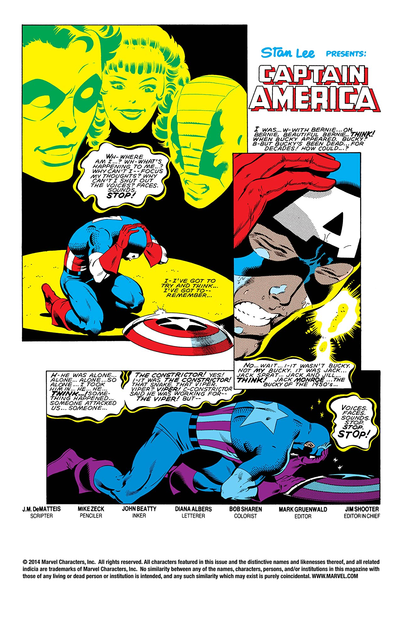 Captain America (1968-1996) #282