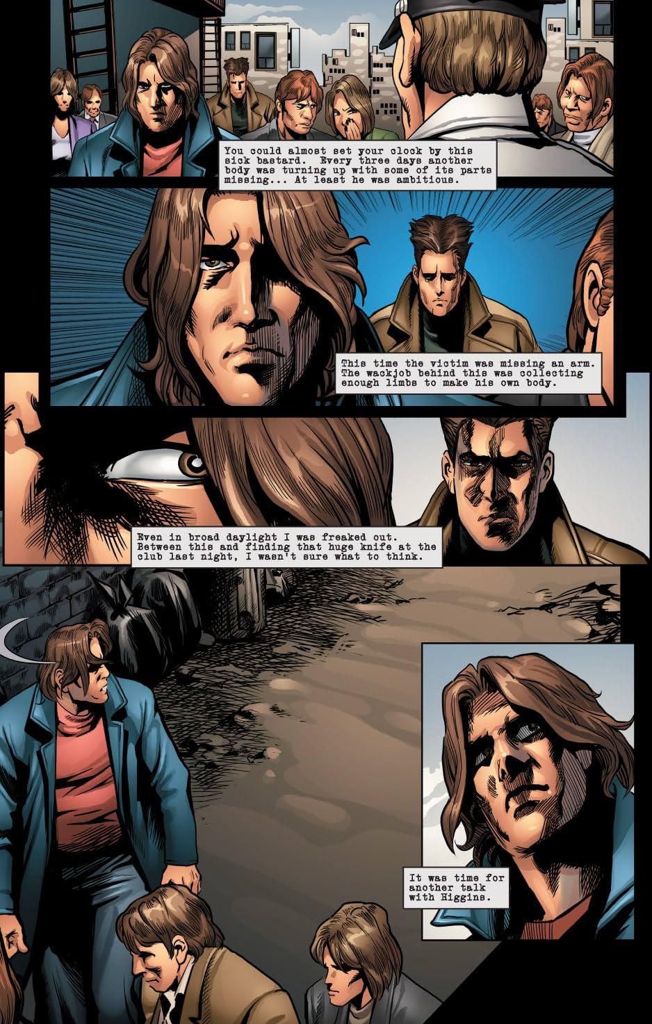 Sins of the Fallen #2: The Nightstalker