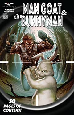 Man Goat & The Bunny Man #2