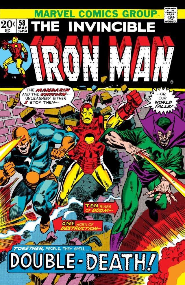 Iron Man (1968-1996) #58