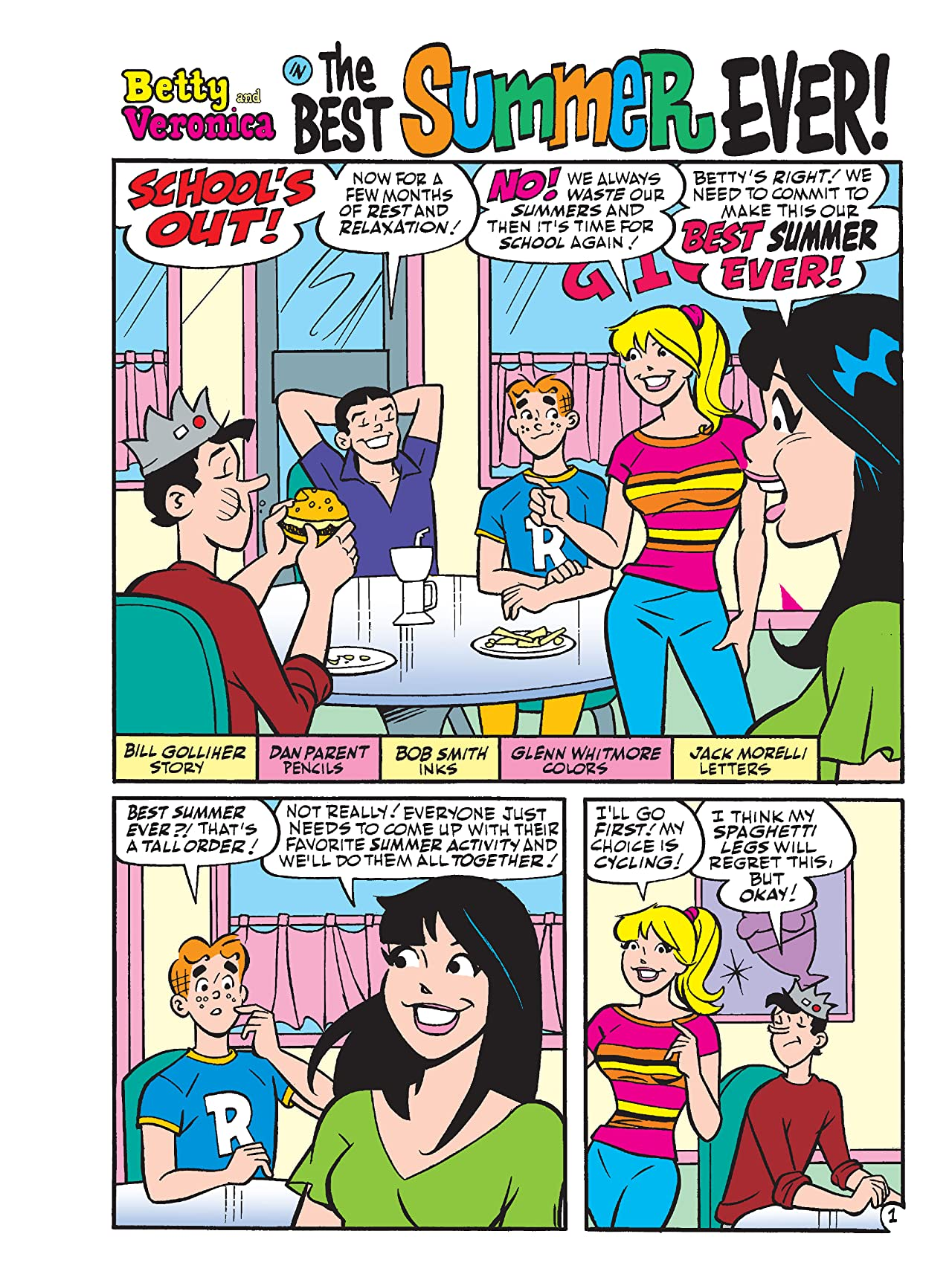 Betty & Veronica Jumbo Comics Digest #294