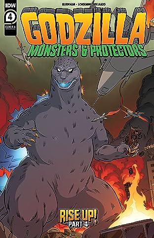 Godzilla: Monsters & Protectors No.4