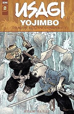 Usagi Yojimbo: The Dragon Bellow Conspiracy No.2