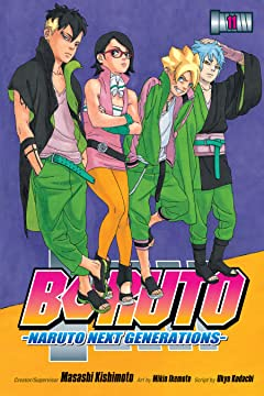 Boruto: Naruto Next Generations Tome 11: The New Team Seven