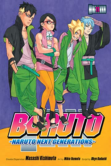Boruto: Naruto Next Generations Vol. 11: The New Team Seven