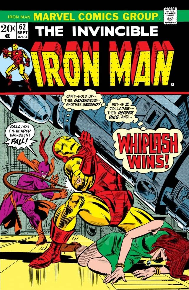 Iron Man (1968-1996) #62