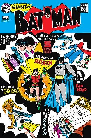 Batman (1940-2011) #213