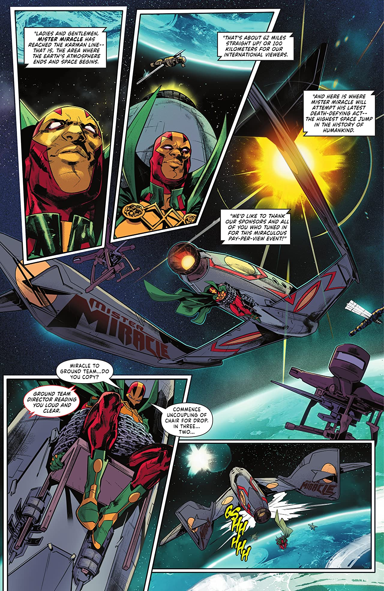 Mister Miracle (2021) #1: The Source of Freedom