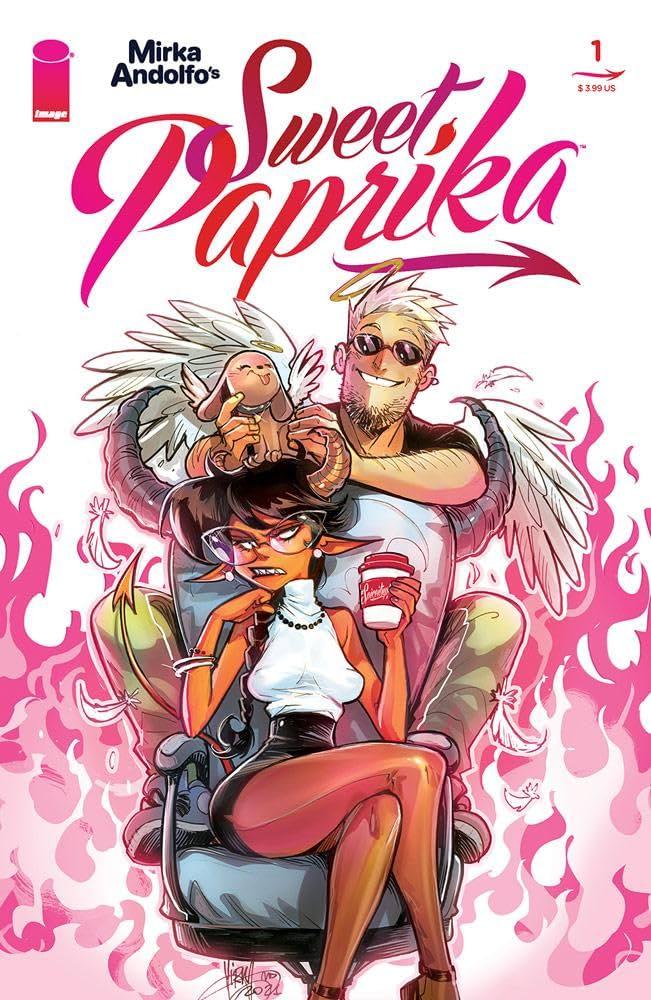 Mirka Andolfo's Sweet Paprika #1