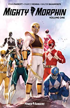 Mighty Morphin Tome 1
