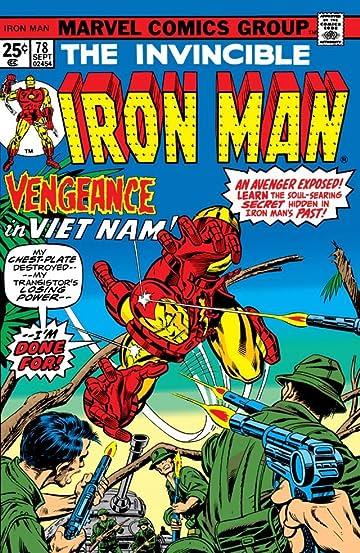 Iron Man (1968-1996) #78