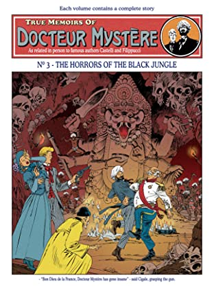 Docteur Mystère Vol. 3: The horrors of the black jungle