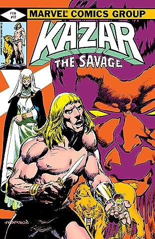 Ka-Zar The Savage (1981-1984) #11