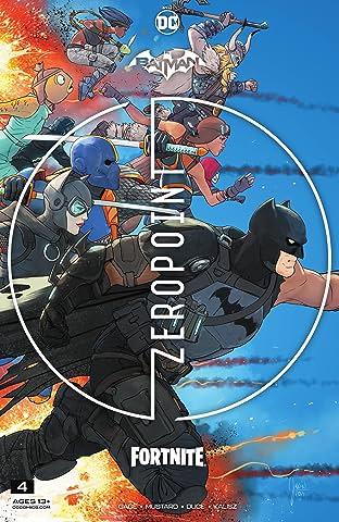 Batman/Fortnite: Zero Point (2021-) #4: *NO FORTNITE CODE*