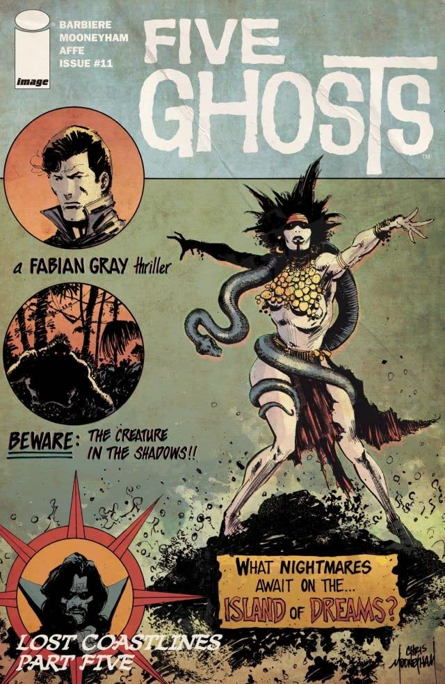 Five Ghosts #11