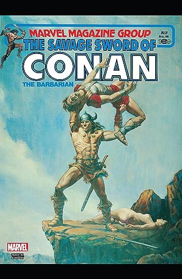 Savage Sword Of Conan #66