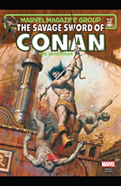 Savage Sword Of Conan #67
