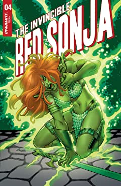 The Invincible Red Sonja #4 #4