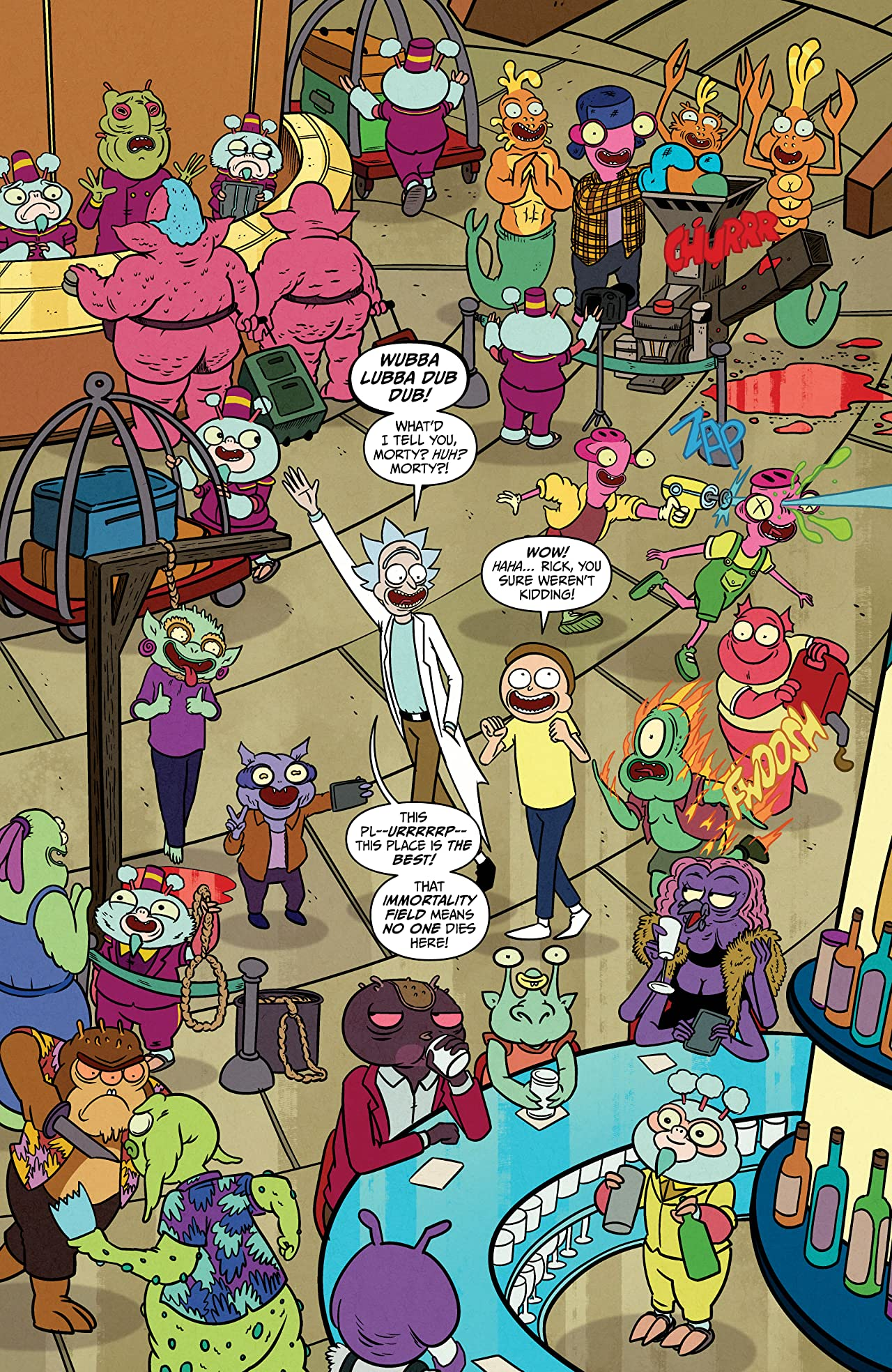Rick and Morty Presents #1: The Hotel Immortal