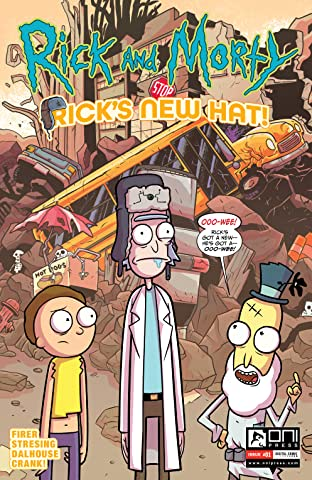 Rick and Morty #2: Rick's New Hat