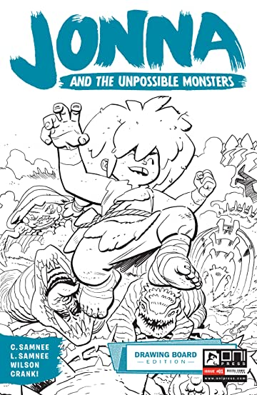 Jonna and the Unpossible Monsters #1: Drawing Board Edition