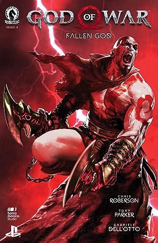 God of War: Fallen God No.4